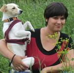 Veronika Thiel mit Fibi